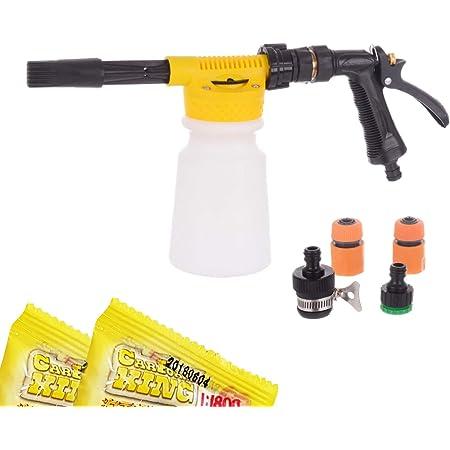 Kastor Schaumkanone Technic Foam Gun Schaumlanze Schaumpistole Schaumstoff 900ml Für Auto Garten Reinigung Anschlüsse Shampoo Baumarkt
