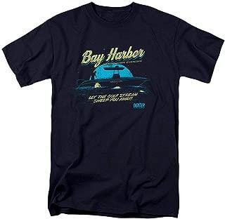 Dexter Bay Harbour Moonlight Fishing T Shirt & Stickers