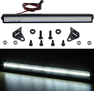 Hobbypark Trx4 RC Car LED Light Bar Kit 36 LEDs for Traxxas TRX-4 Axial SCX10 90046 D90 RC Rock Crawler Truck Body Shell Roof Lights (Style 1)