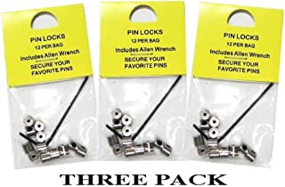 36 Locking Pin Keepers For Hat Lapel Vest