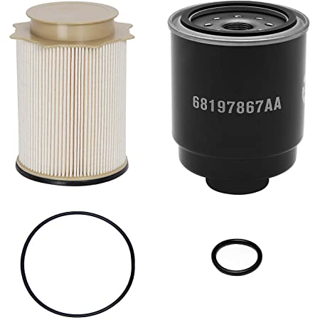 Amazon.com: Dodge Ram 6.7 Liter Diesel Fuel Filter Water Separator Set  Mopar OEM: Automotive | 2014 Ram 2500 Fuel Filters |  | Amazon.com