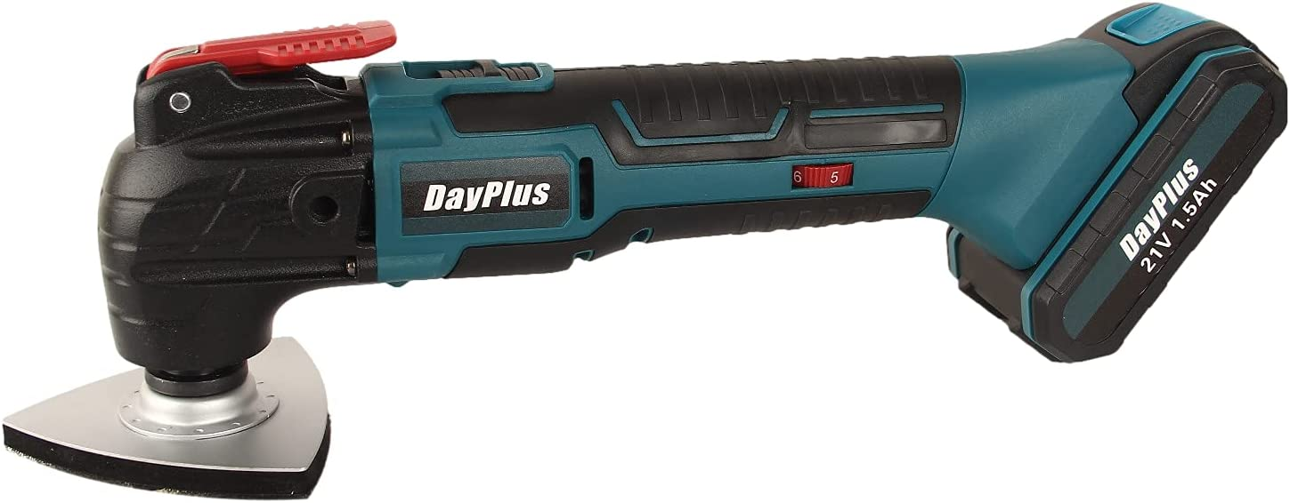 21V 5 ☆ very popular Cordless Oscillating Tool At the price of surprise Kit 22-Piece 20000 w Accessories