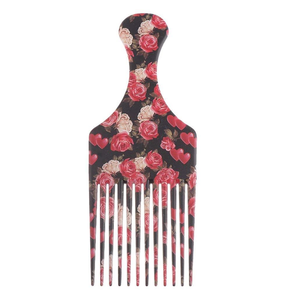 側面ピアニスト多様体Perfeclan ヘアダイブラシ 毛染めコーム 髪染め用ヘアコーム サロン 美髪師用 DIY髪染め用 全3サイズ - 大