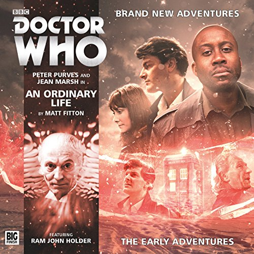 Doctor Who - An Ordinary Life audiobook cover art