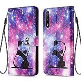 MRSTER Honor 9X Case Creative Pattern Design Premium PU