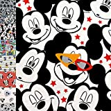 MAGAM-Stoffe Mickey Mouse Jersey Kinder Stoff Oeko-Tex