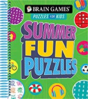 Brain Games Puzzles for Kids - Summer Fun Puzzles