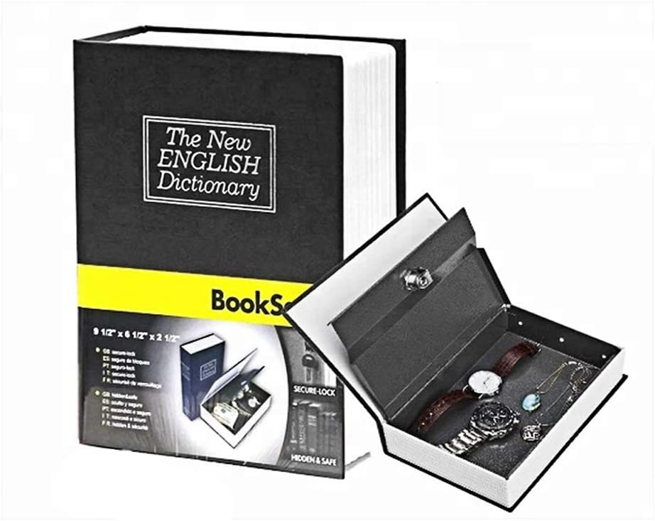 Realistic Attention half brand Diversion Book Safe Lock Combination with Hidden