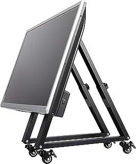 Mobilny stojak na telewizor, ekran reklamowy podłogowy, wózek konferencyjny sceniczny stojak do podnoszenia, odpowiedni do...
