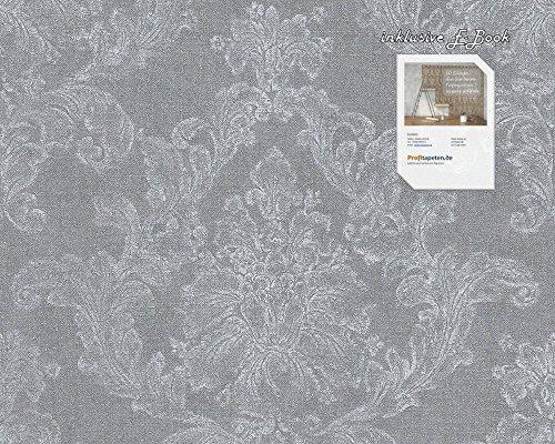 Tapete 305184 Kollektion Elegance 3 inklusive E-Book, grau, Grafische Muster, 30518-4 A.S. Création Vliestapete