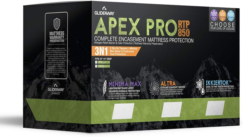 Glideaway APEX PRO 3-in-1 Mattress Predector - Queen