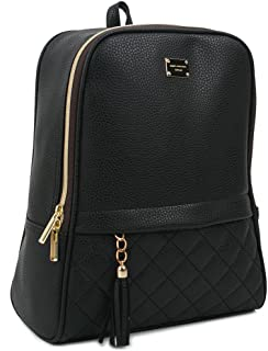 Women's Modern Design Casual Fashion small Backpacks Black