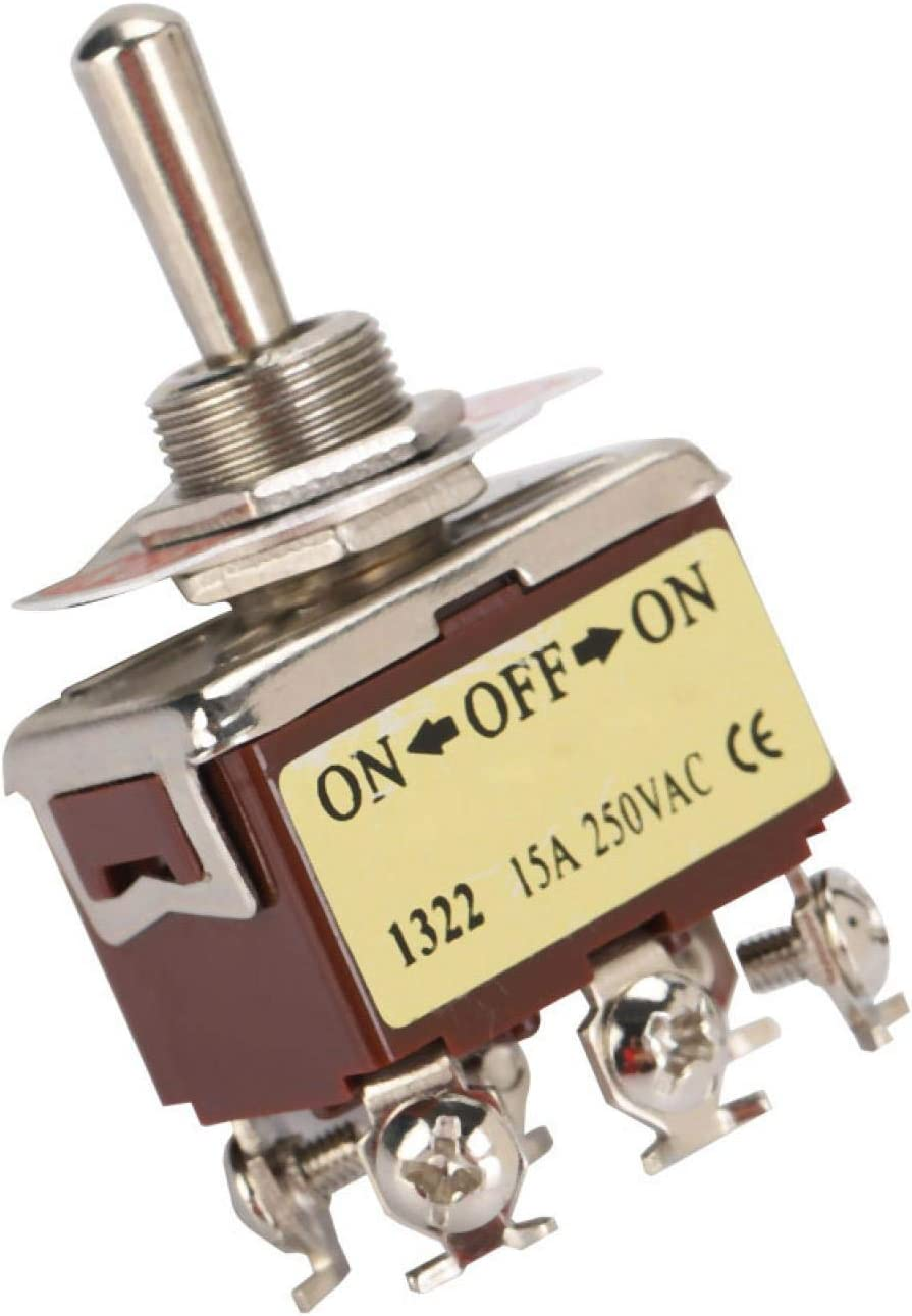 Toggle Switch supreme Terminal 15A We OFFer at cheap prices 6-pin 12m Position Mechanical Valve 3
