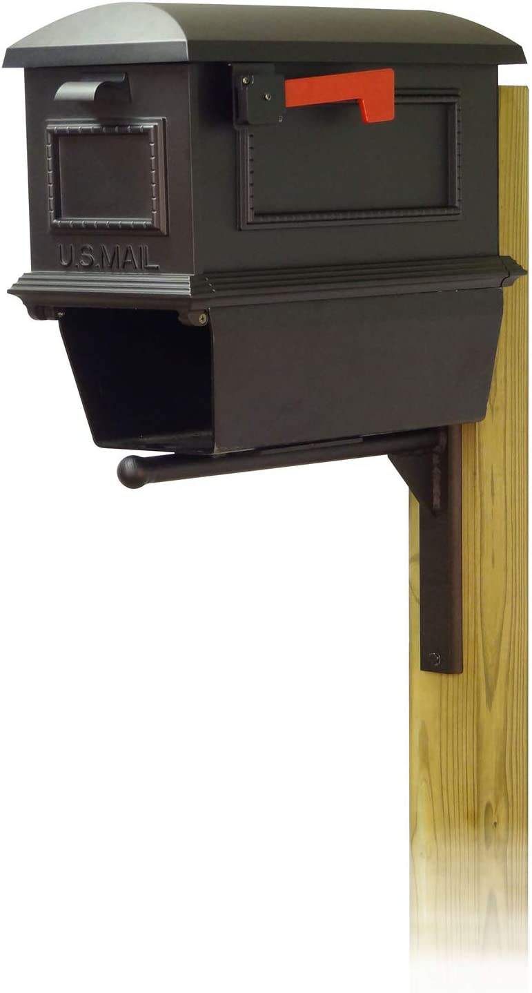 Max 72% OFF All stores are sold Special Lite Products Traditional Curbside Newspape Mailbox with