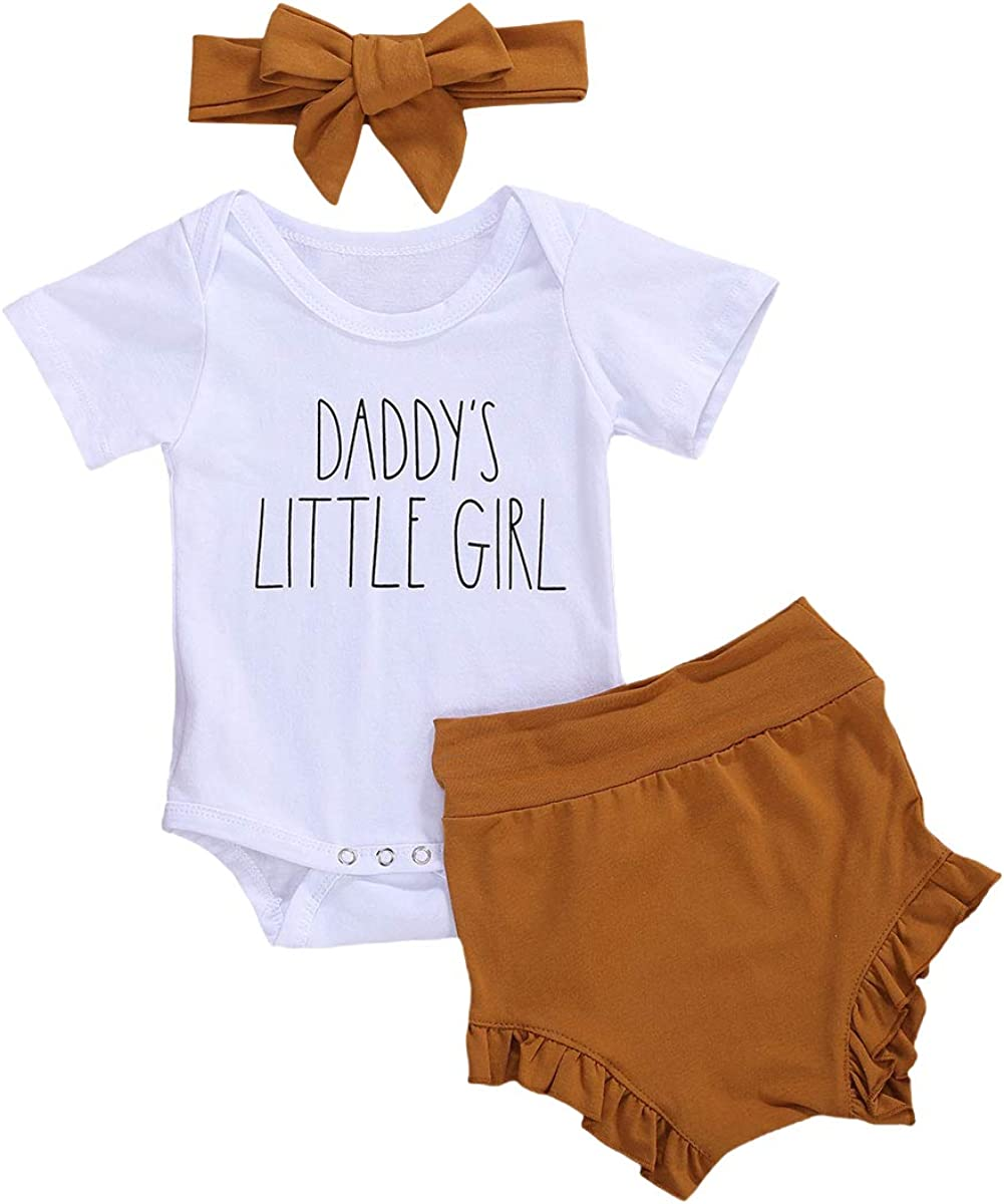 Newborn Kids Letter New mail order Printed Outfits Ranking TOP7 Short Sleeve Bodysuit Romper