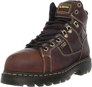 Dr. Martens , Chaussures de sécurité pour homme, Noir - teak and black, 45 EU