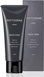 メンズ フェイシャルフォーム 100g ( 男性用 ボタニカル 洗顔クリーム 洗顔料 保湿 国産植物 日本製 )【 フィトグラム 】