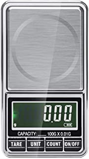 USB Chargeable Digital Pocket Scales Smart Scales for Weighing Jewelry Pans Herbs 0.01g x 100g