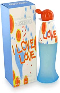 New Item MOSCHINO I LOVE LOVE EDT SPRAY 3.3 OZ I LOVE LOVE/MOSCHINO EDT SPRAY 3.3 OZ (W)