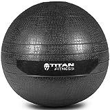 Titan Fitness 10-60 lb Slam Spike Ball Rubber Exercise...