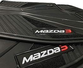 Mazda Floor Mats 3 OEM Genuine - All Weather - Heavy Duty - (2014,2015,2016,2017,2018) Complete Set (Black)�