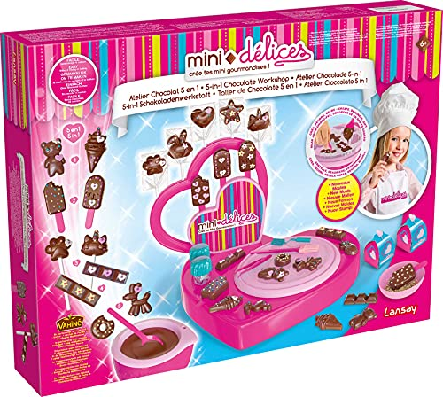 Mini Délices - Mon Super Atelier Chocolat 5 en 1 - Lansay