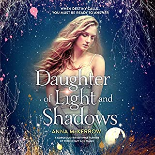Daughter of Light and Shadows audiobook cover art
