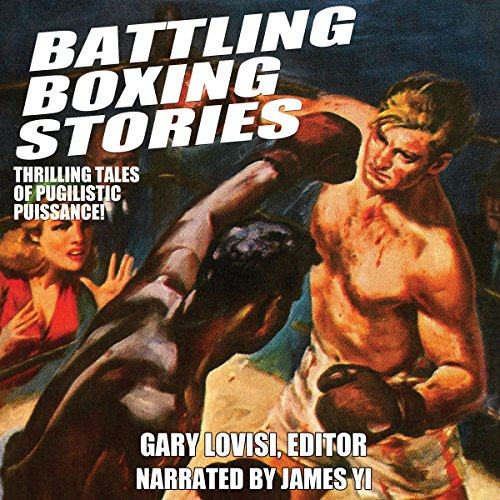 Battling Boxing Stories audiobook cover art