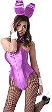 【大きいサイズ】バニーガール衣装 大きいサイズ 9点セット 【薄紫】4L プレーンバニー衣装・裏地付· Bunny girl costume 9pieces set【Light purple】Plain bunny (4L)