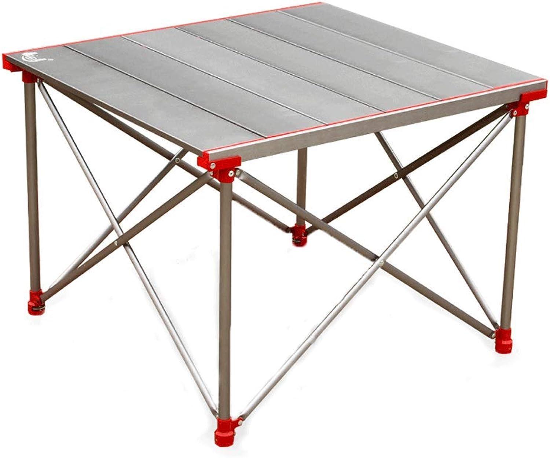 FRF Klapptisch- Tragbarer Aluminium-Klapptisch im Freien, Picknicktisch-Grilltisch