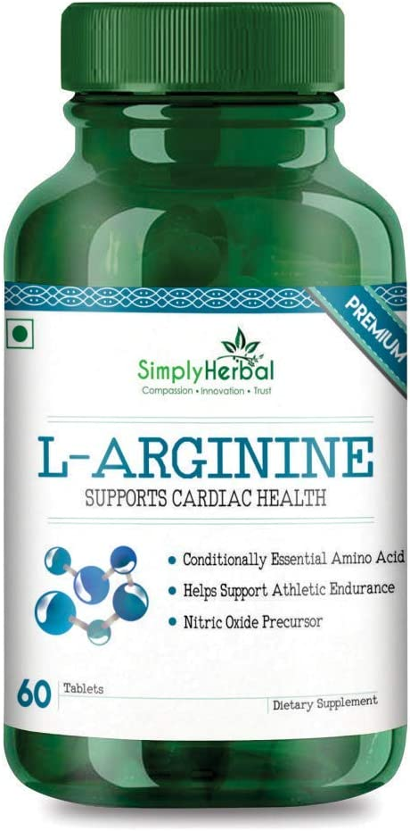The Popular brand Choice Simply Herbal L-Arginine for Performance - Low price Athletic 6