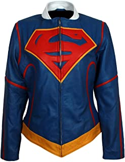 Best supergirl leather jacket Reviews