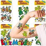 Neu: 6-teiliges Tattoo-Set * Ritter & Drachen * vom Lutz Mauder-Verlag | Kinder Kindertattoo...