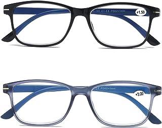 KoKoBin Anti Blue leesbril Spring Hinge computerbril heren en dames blauw lichtfilter mode lezer
