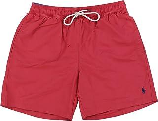 Polo Ralph Lauren Mens Printed Swim Shorts Beach Trunks with Strings