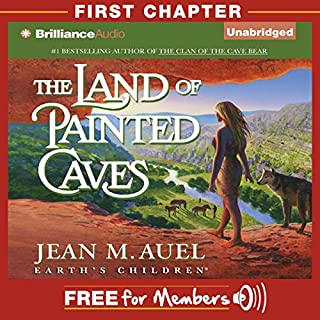The Land of Painted Caves: First Chapter audiobook cover art