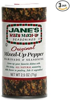 Janes Krazy Mixed Up Pepper, 2.5 oz (Pack of 3)