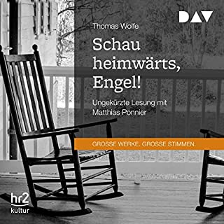 Schau heimwärts, Engel!                   By:                                                                                                                                 Thomas Wolfe                               Narrated by:                                                                                                                                 Matthias Ponnier                      Length: 21 hrs and 52 mins     Not rated yet     Overall 0.0