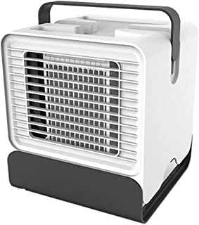 OhhGo - Mini ventilador de refrigeración de aire acondicionado portátil con USB, para oficina, hogar, dormitorio