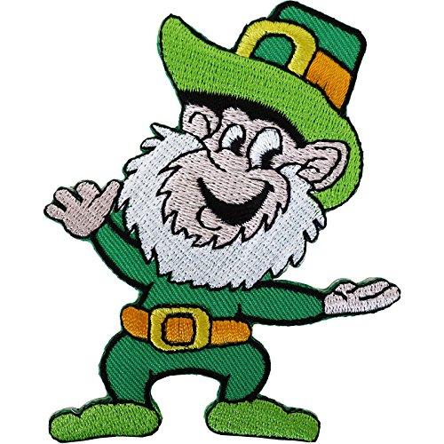 Leprechaun irlandés parche bordado Sew/hierro insignia