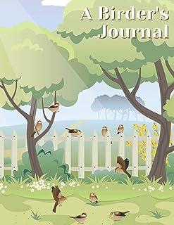 A Birder's Journal: Bird Watcher Gifts - Paperback Journal to write in