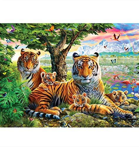 Puzzels Voor Kinderen 1000 Stukjes, Tijgervlinder, Bosdier, 1500/1000/500 Stukjes, Puzzel Spelletjes Woondecoratie Cadeaus