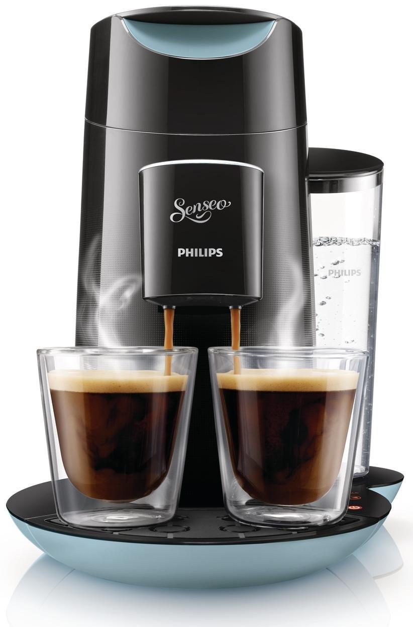 Philips Senseo Twist - Cafetera monodosis, color negro y azul (importada): Philips: Amazon.es: Hogar