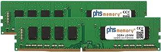 PHS-memory 64GB (2x32GB) Kit RAM módulo para Gigabyte GA-H170-D3HP (Rev. 1.0) DDR4 UDIMM 2666MHz PC4-2666V-U