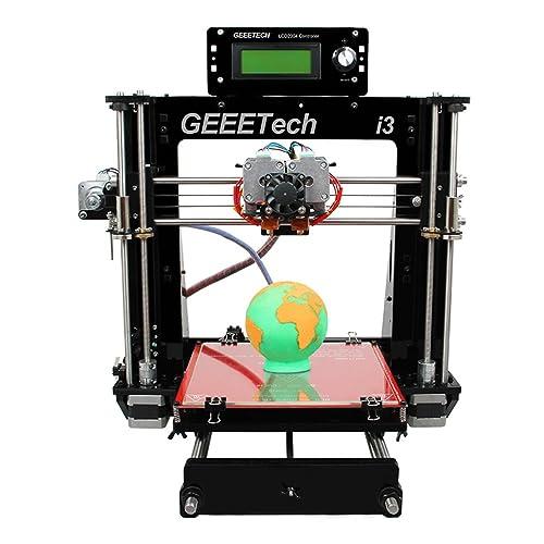 GEEETECH Pro C Imprimante 3D, Dual Extruder,double Head,reprap Prusa I3 3d Printer kit,two-color Printing