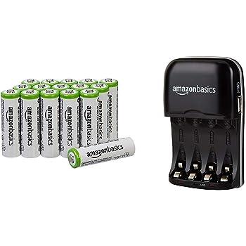 AmazonBasics Batterieladegerät für Ni MH AA: