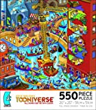 STEVE SKELTON'S TOONIVERSE ALL DOGS MUST BE ON A LEASH 550 Piece Jigsaw Puzzle MADE IN USA PUZZLE