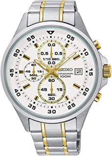 SKS629 Silver Stainless-Steel Japanese Chronograph Fashion Watch