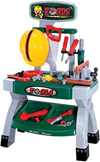 Building Tool Kits Set, Children Tool Toy Kids Construction Educational Toys Kids Tool Bench Electric Drill Educational To...