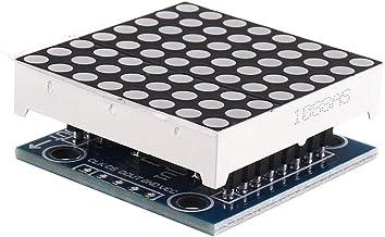 Electronic Module MAX7219 Dot Matrix Module LED Display Board For 8x8